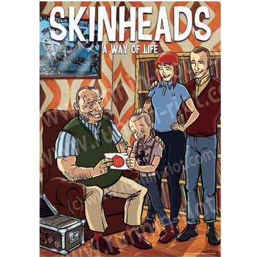SKINHEAD A WAY OF LIFE POSTER