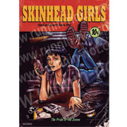 SKINHEAD GIRL PULP FICTION POSTER