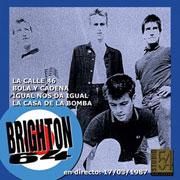 BRIGHTON 64: LIVE STUDIO 54 - 17/3/1987 - EP