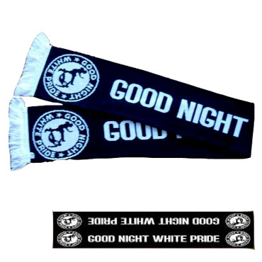 GOOD NIGHT White Pride Bufanda/ Scarf