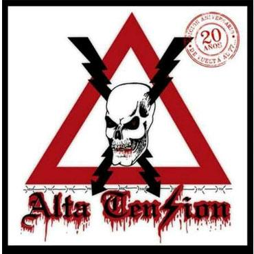 ALTA TENSION 20 Años LP (De vuelta al 77) Vin negro Lim. 200