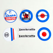 STICKERS OFFER PACK SCOOTER & MOD