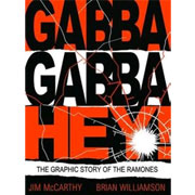 RAMONES Gabba Gabba Hey Graphic BOOK
