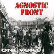 AGNOSTIC FRONT One Voice LP (Lim. 1000, white vinyl) LP