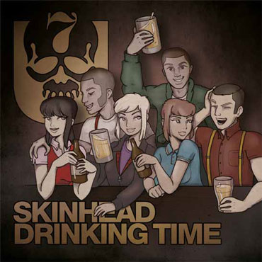 7er JUNGS Skinhead Drinking Time 7