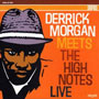 DERRICK MORGAN Meets the High Notes Live LP 12