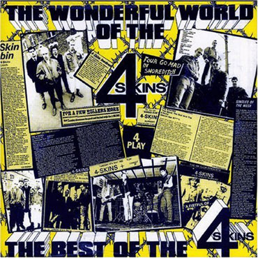 4 SKINS The Wonderful World LP 12 inches