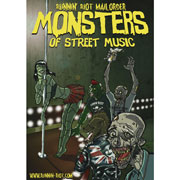 RUNNIN RIOT FREE POSTER Monsters of Street Music A2