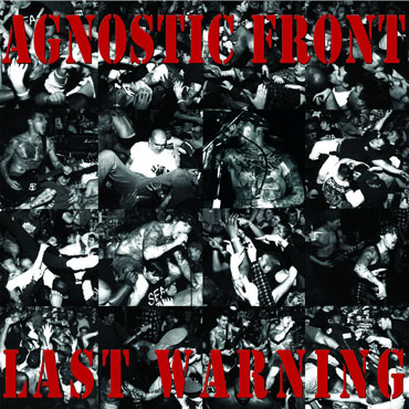 AGNOSTIC FRONT Last Warning 12 inches LP