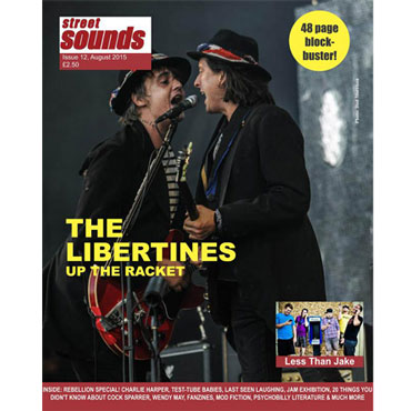fanzine STREET SOUNDS Magazine issue 12