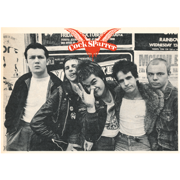 A2 POSTER COCK SPARRER Early Days