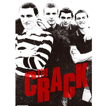 THE CRACK Early Days POSTER A2 Size