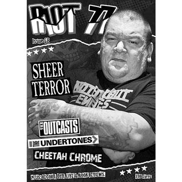 One of European best punk fanzines RIOT 77 issue 18