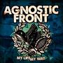 Diseño portada AGNOSTIC FRONT My life, my way LP
