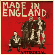 Cover for ANTISOCIAL Made in England EP different artwork