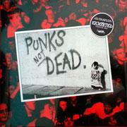 THE EXPLOITED Punks not dead LP cover artwork