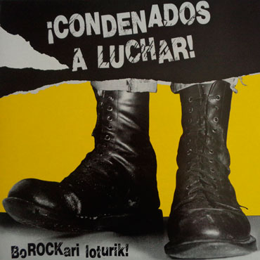 Cover artwork for condenados-a-luchar-lp