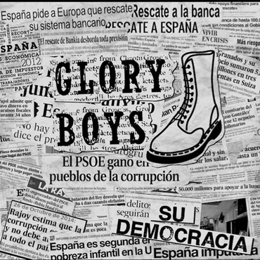 Artwork for GLORY BOYS Su Democracia EP cover