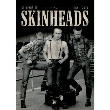 diseño poster SKINHEADS 1969-2019 50 Anniversary