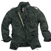 SURPLUS M65 JACKET REGIMENT Blackcamo / Chaqueta Camuflaje Oscuro