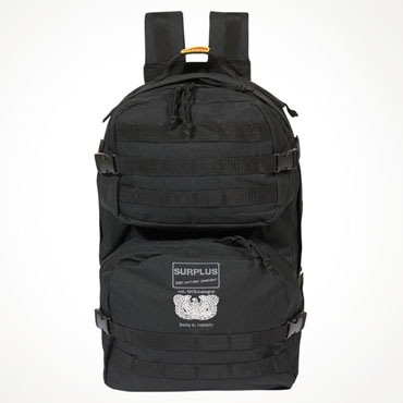 Surplus Mole Black / Negro Bagpack