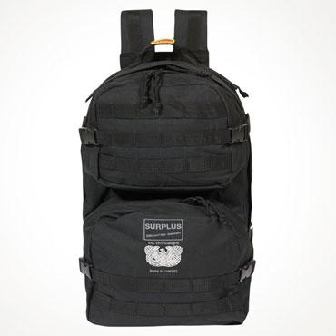 Surplus Mole Black Bagpack