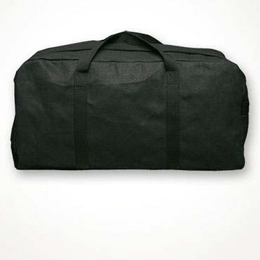Surplus Holdalls Black Pilot Bags