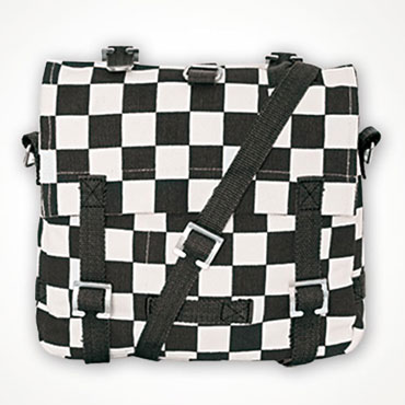 Surplus Cotton Bag Small White / Black Blanco / Negro