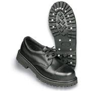 SURPLUS Shoes, 3 eyelet Black / Zapatos 3 agujeros negros
