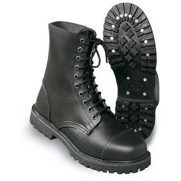 SURPLUS Boots, 10 eyelet black / Botas 10 agujeros negras