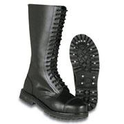 SURPLUS Boots, 20 eyelet black / Botas 20 agujeros negras