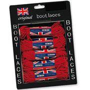 SURPLUS BOOT LACES 60 CM RED / Cordones rojos de 60 cm para botas