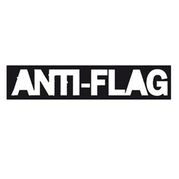 ANTI FLAG Logo Pegatina PVC