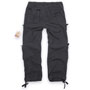 BRANDIT Pure Vintage Black Pantalones Largos