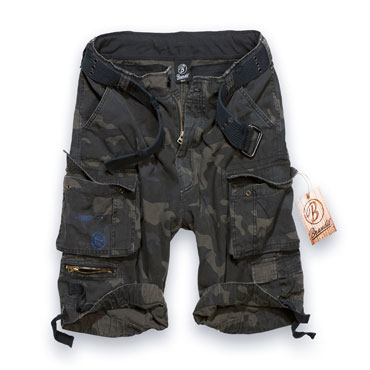 BRANDIT Gladiator Vintage Darkcamo Pantalones Cortos / Shorts