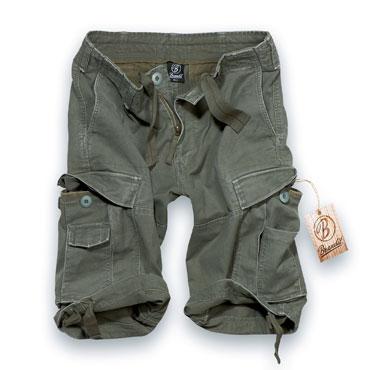 BRANDIT Vintage Olive Pantalones Cortos / Shorts
