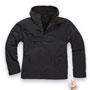 BRANDIT Windbreaker Black Jacket