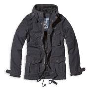 BRANDIT Vintage Diamond Black Jacket