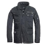 BRANDIT Platinum Vintage Black Jacket