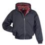 BRANDIT Lord Canterbury Black Hooded Harrington Jacket