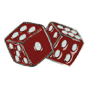 RED DICES Belt Buckle