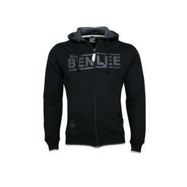 BENLEE Men Slim fit Hooded Zipsweat black ENDFIELD