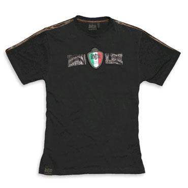 bronze coach camiseta negra benlee