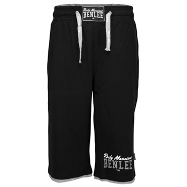 BENLEE Jogging Shorts ROOS Black/Negro