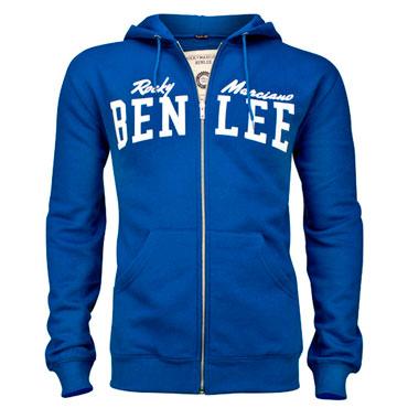 BENLEE Hooded Sweatjacket DANNY Majestic Blue