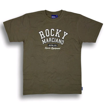 BENLEE ROCKY MARCIANO T-shirt Army Green