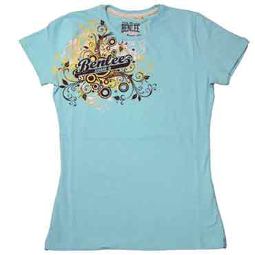 BENLEE Ladies AMORE T-shirt Powder Blue