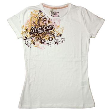 BENLEE Ladies AMORE T-shirt White