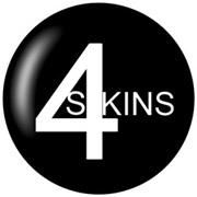 4-SKINS Chapa/ Button Badge