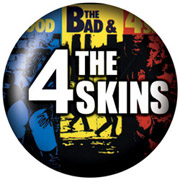 4-SKINS Chapa/ Button Badge
